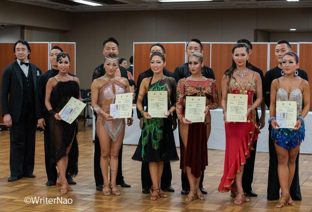 190602_浅草ダンスフェスティバル-6_ニュースターグランプリⅡ・ラテン部門 表彰式