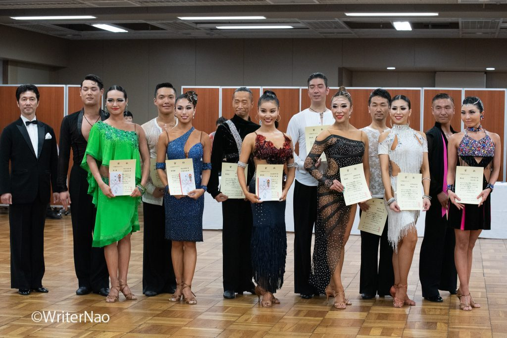 190602_浅草ダンスフェスティバル-11_B級ラテン部門 表彰式
